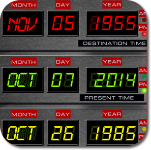 Visit www.Fluxy88.com and travel through time with your very own Flux Capacitor!